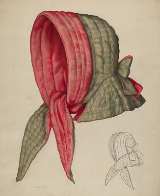 Sleighing Bonnet