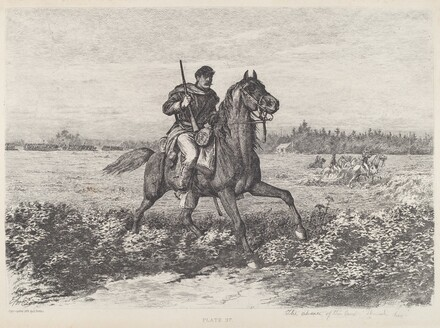 The Advance of the Cavalry