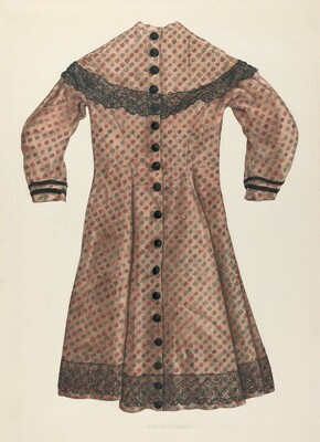Challis Girl's Dress