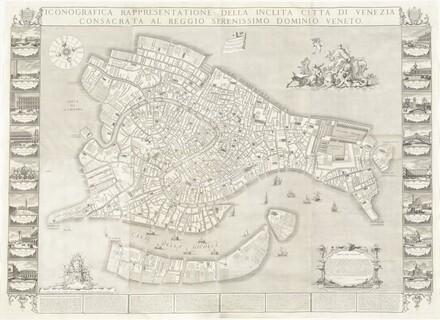 Iconografica Rappresentatione della Inclita Città di Venezia (Iconongraphic Representation of the Illustrious City of Venice)
