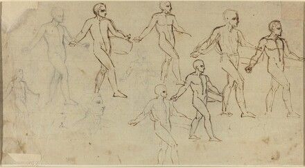 Studies of a Sower (Illustration for Thomson's Seasons)