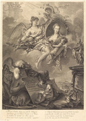 Louise Albertine de Brandt, Baroness von Grapendorf