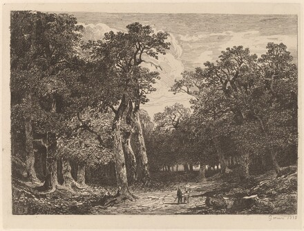 Couple in a Clearing