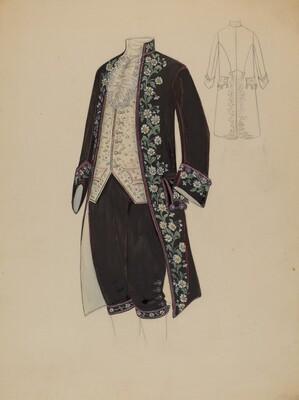 Man's Court Costume