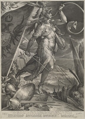 Bellona Leading the Imperial Armies Against the Turks