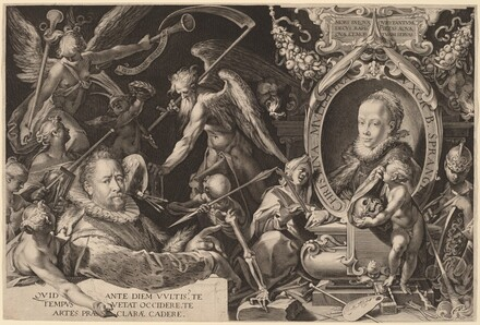 Bartholomaeus Spranger and his Late Wife Christina Muller