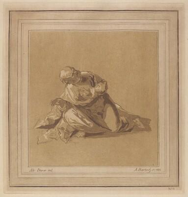 A Crouching Apostle (Saint Peter)
