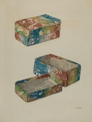 Pa. German Wallpaper Box