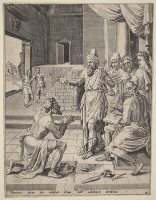 The King Forgiving His Servant His Debt