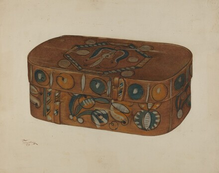 Pa. German Cap Box