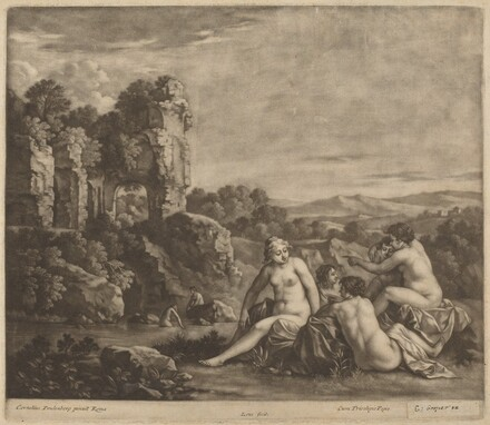 Bathers in a Landscape