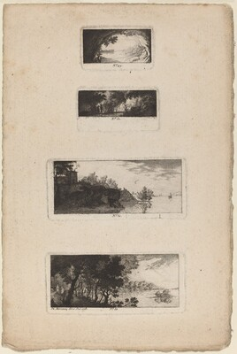 Landscape with Cave Opening