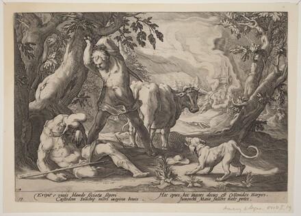 Landscape with Mercury Raising His Sword to Kill a Sleeping Argus