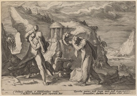 Deucalion and Pyrra Repeopling the Earth