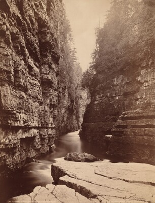 Ausable Chasm - Up the River from Table Rock