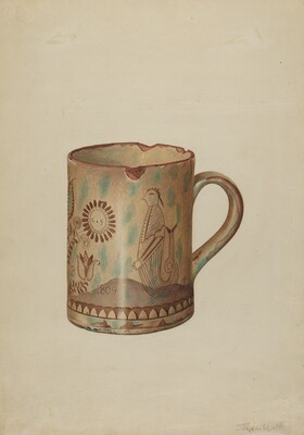 Pa. German Hildebrandt Mug