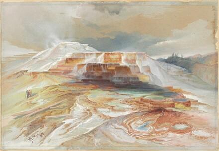 Hot Springs of Gardiner's River, Yellowstone