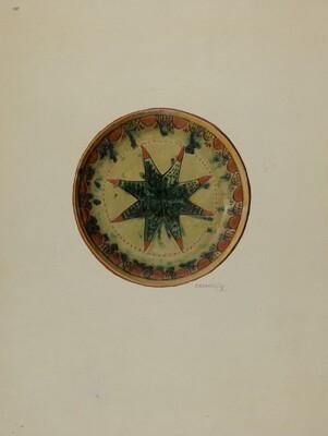 Pa. German Small Plate