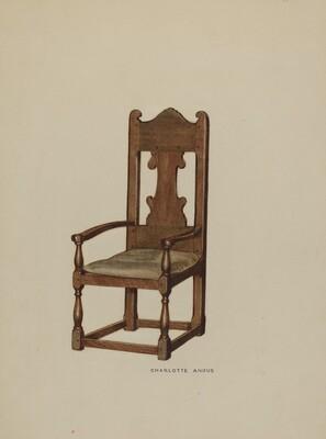 Pa. German Arm Chair