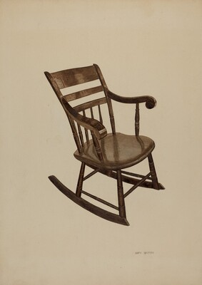 Pa. German Rocking Chair
