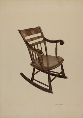 Pa. German Rocking Chair