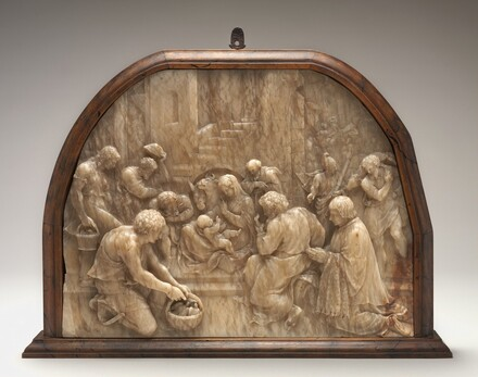 Adoration of the Shepherds with Donor