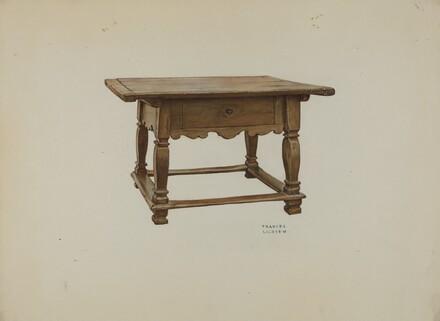 Pa. German Table