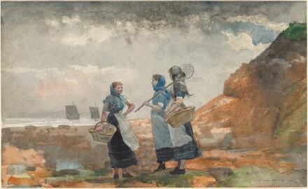 Three Fisher Girls, Tynemouth