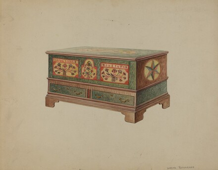 Pa. German Dower Chest