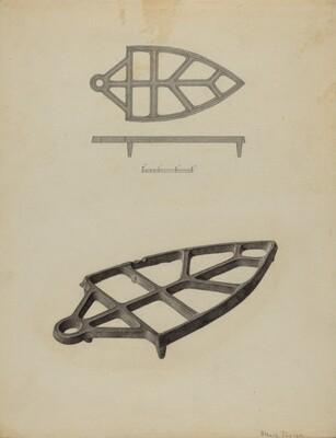 Pa. German Flat-iron Holder