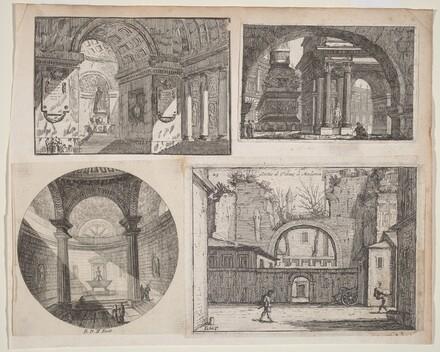 Porch before a Circular Temple