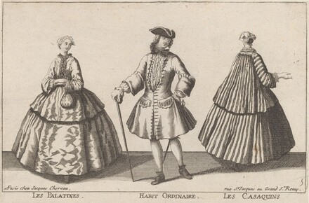 Les Palatines/Habit Ordinaire/Les Casaquins
