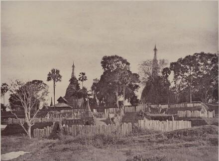 Rangoon: North Entrance to the Shwe Dagon Pagoda