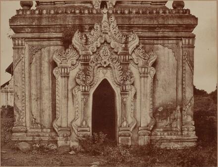 Tsagain Myo: Doorway of a Small Pagoda