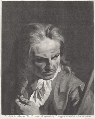 A Gentleman Pilgrim with a Rosary