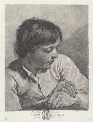 A Young Man with His Hands Crossed