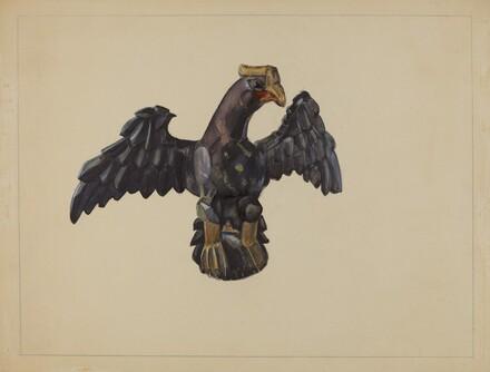 Pa. German Eagle Figure