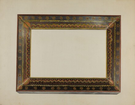 Pa. German Picture Frame