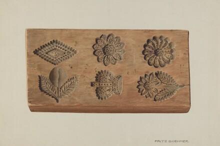 Pa. German Springerle Board