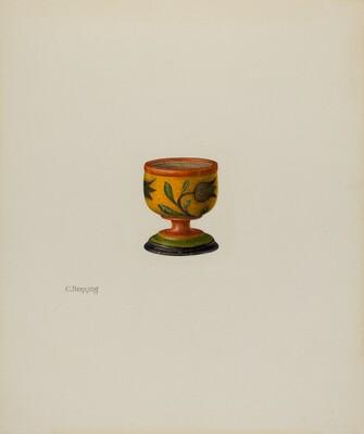 Pa. German Salt Cup
