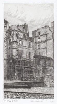 Rue du Coq St. Jean