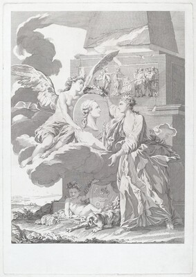 Allegorical Portrait of Pierre Buirette de Belloy