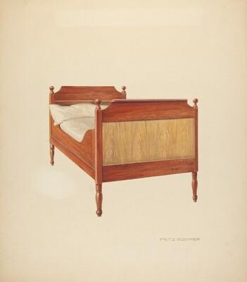 Zoar Sleigh Bed