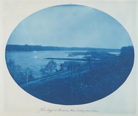 From Bluffs at Merrimac, Minn. Looking Downstream