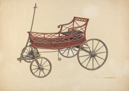 Zoar Invalid Wagon