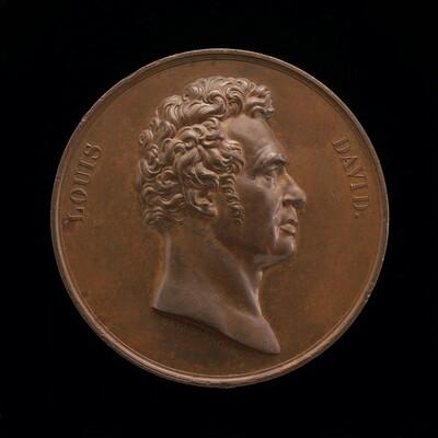 Jacques-Louis David, 1748-1825, Painter [obverse]