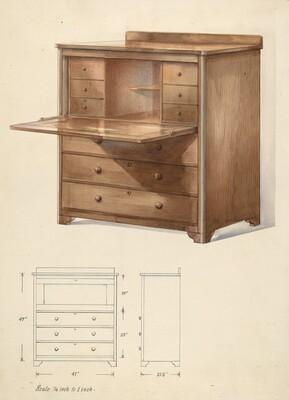Bishop Hill: Desk