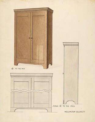 Bishop Hill: Cupboard