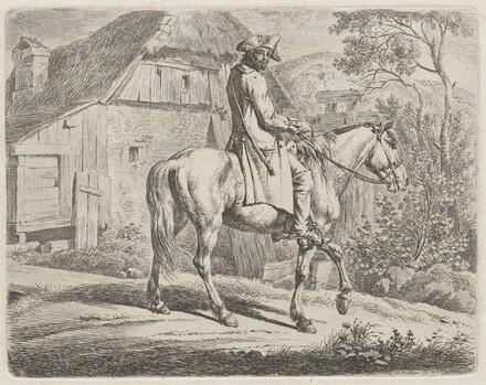 Cattle Dealer on Horseback