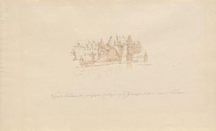 Schloss Lauter zwischen Creutznach u. Zweibrücken an d. Lauter